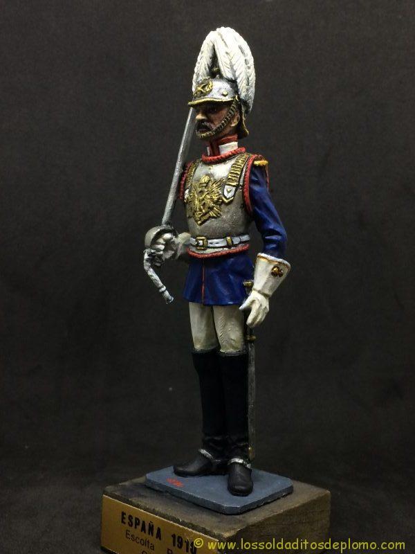 eko-almirall Escolta Real (Oficial) ESPAÑA 1910-3