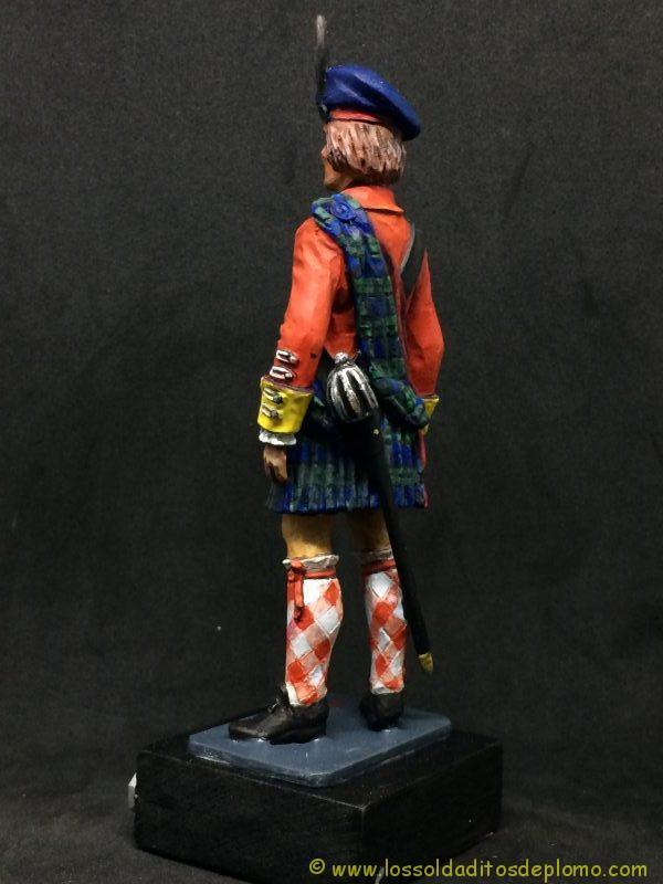 eko-almirall Oficial Británico de 1745 de los Higlander´s Black Watch.-5