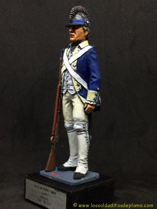 eko-almirall Soldado de Infantería Ligera U.S.A. 1779-1803-3