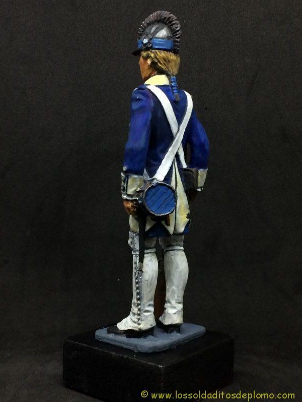eko-almirall Soldado de Infantería Ligera U.S.A. 1779-1803-5