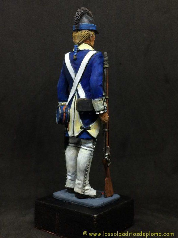 eko-almirall Soldado de Infantería Ligera U.S.A. 1779-1803-7
