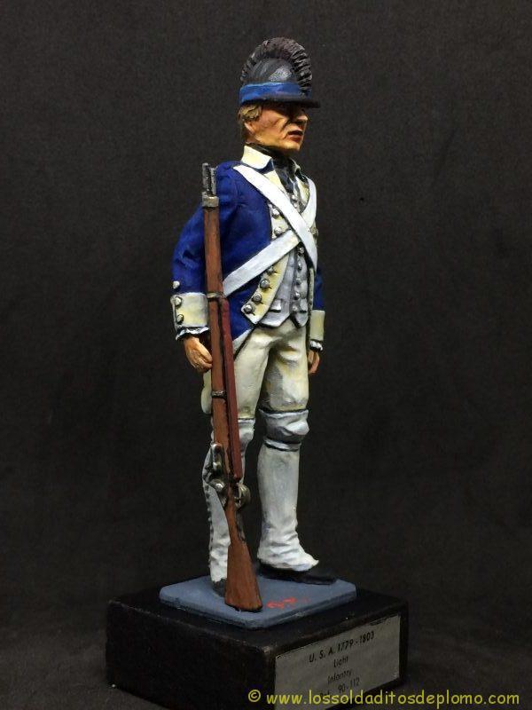 eko-almirall Soldado de Infantería Ligera U.S.A. 1779-1803-9