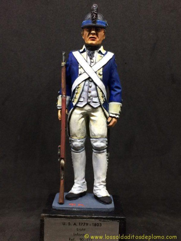 eko-almirall Soldado de Infantería Ligera U.S.A. 1779-1803-1