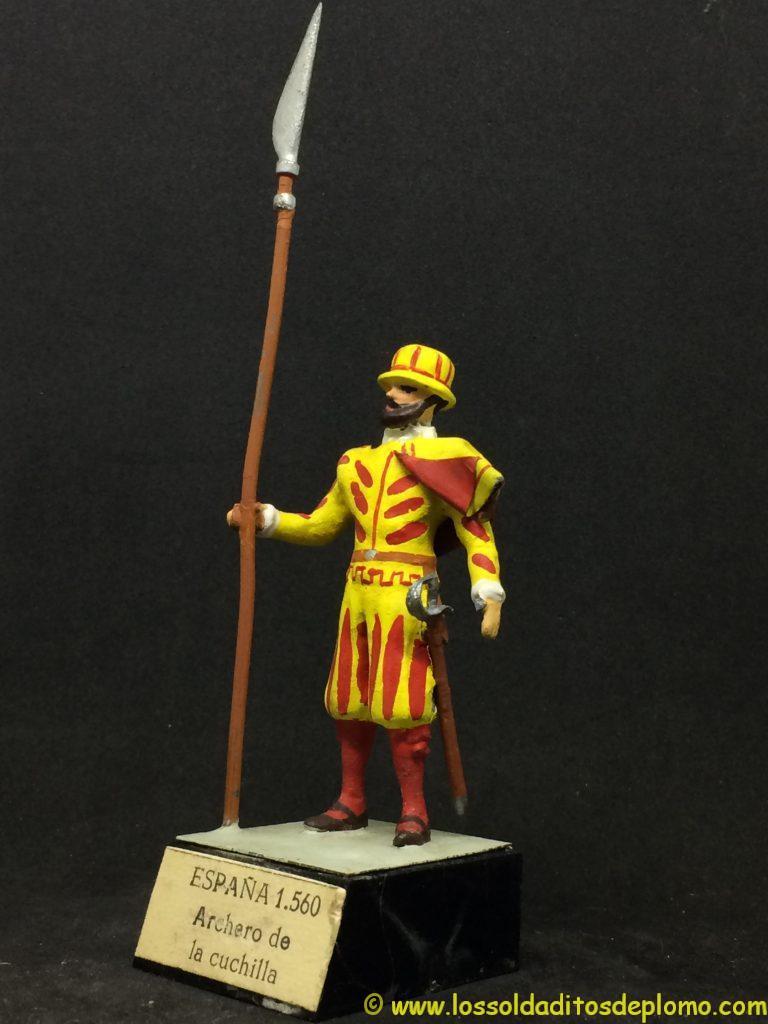 Guardias Reales Españolas: Archero de la cuchilla 1.560