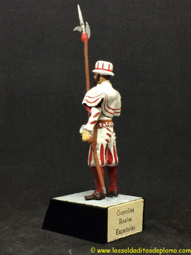 Guardias Reales Españolas: Guardia Tudesca Flamenca 1.560