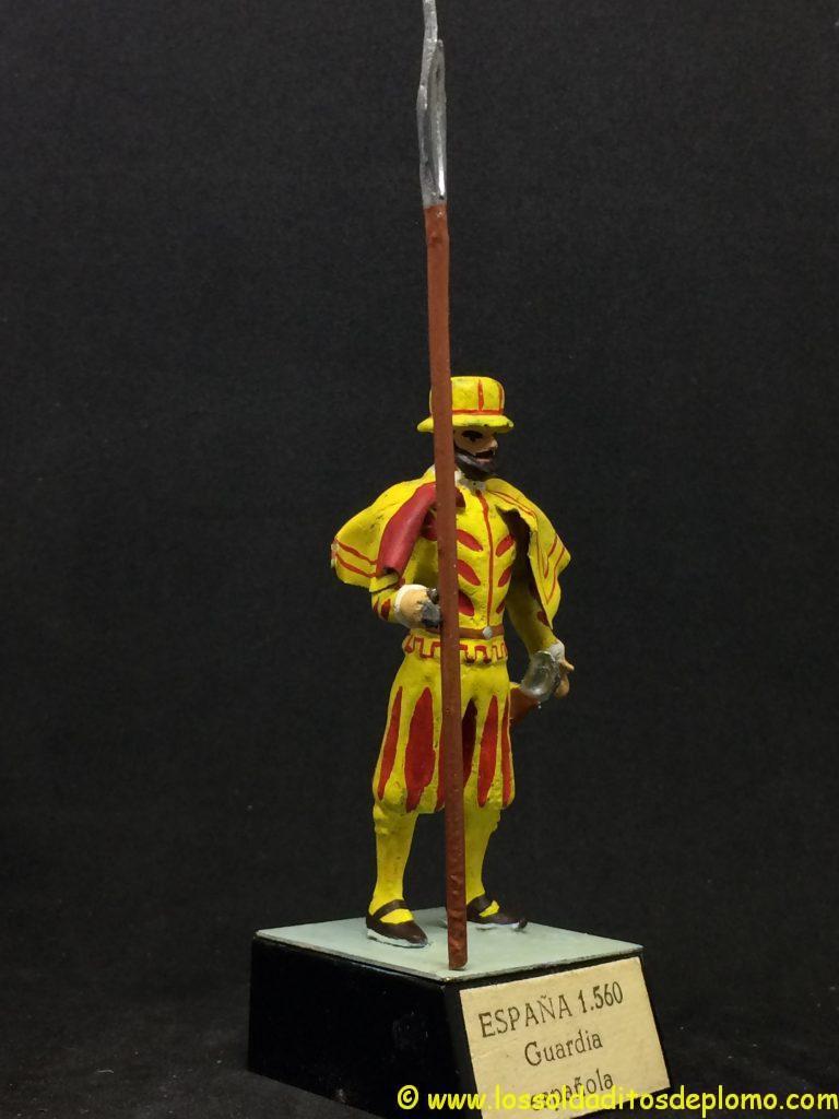 j. almirall Guardias Reales Españolas: Guardia Española 1.560