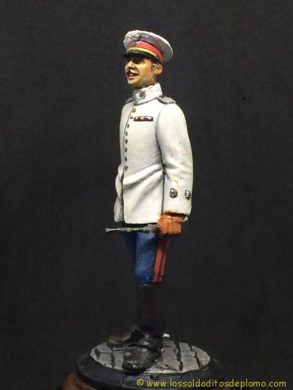 Beneito Teniente de Infantería de Línea traje de verano 1.908-2