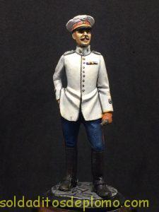 Beneito Teniente de Infantería de Línea traje de verano 1.908-1
