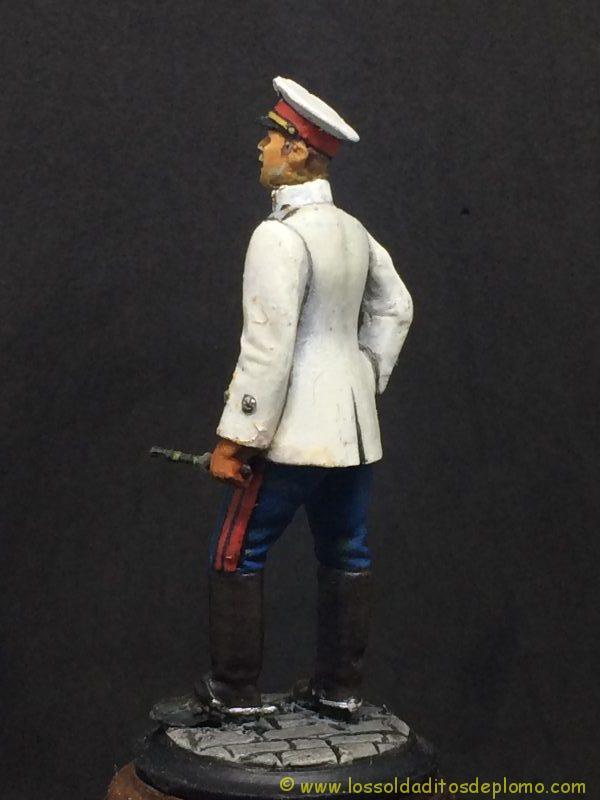 Beneito Teniente de Infantería de Línea traje de verano 1.908-4