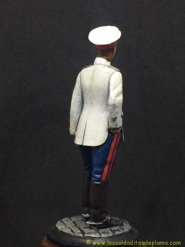 Beneito Teniente de Infantería de Línea traje de verano 1.908-6