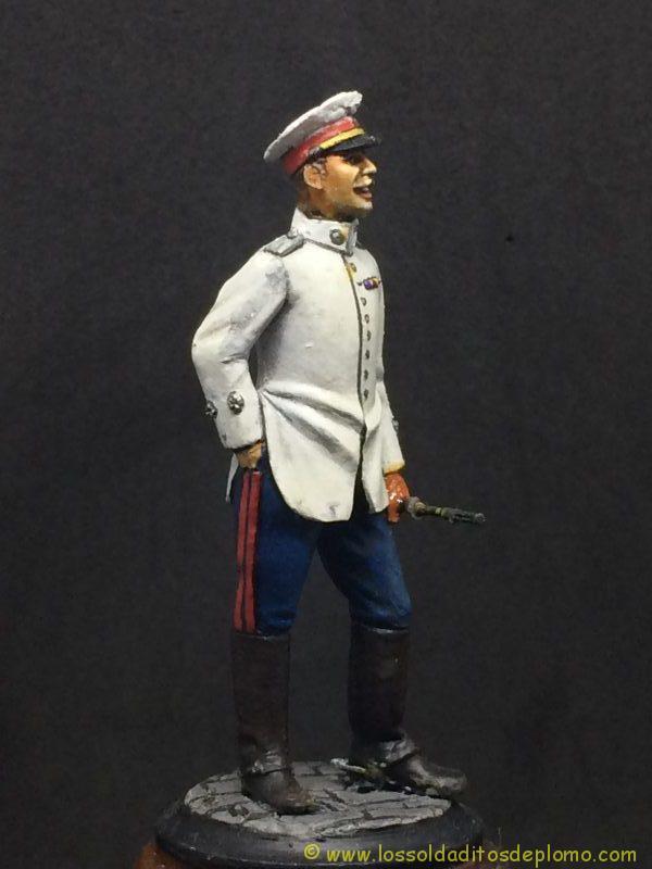Beneito Teniente de Infantería de Línea traje de verano 1.908-8
