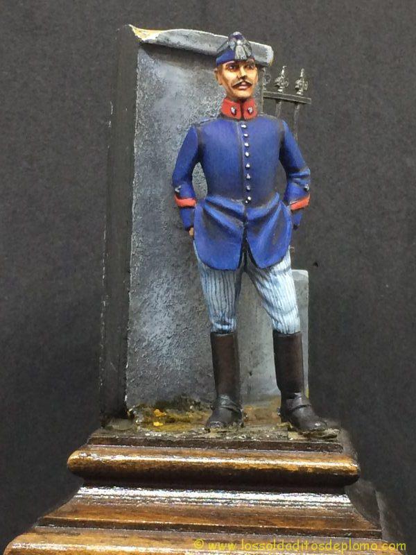 Capitán Escuadrón Montado de la Guardia Real , 1910-1923-7