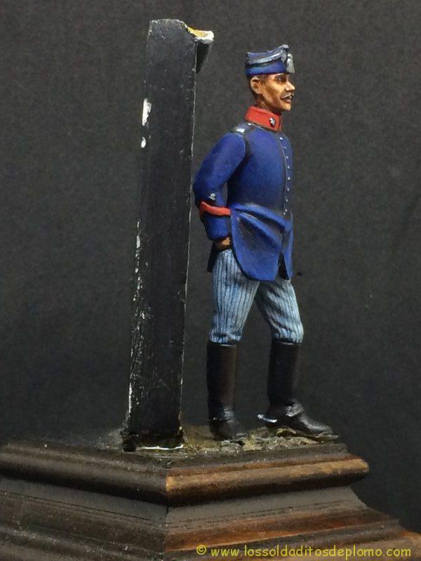 Capitán Escuadrón Montado de la Guardia Real , 1910-1923-9