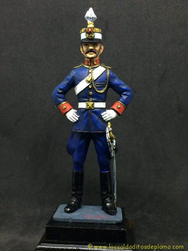 EKO 90mm Comandante Artillería Ligera 1910