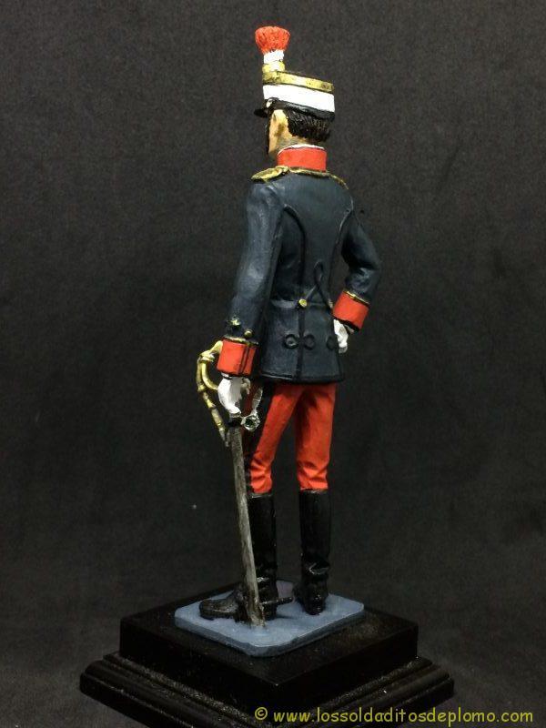 eko-almiral lead soldier Oficial de Infantería,1910 -5