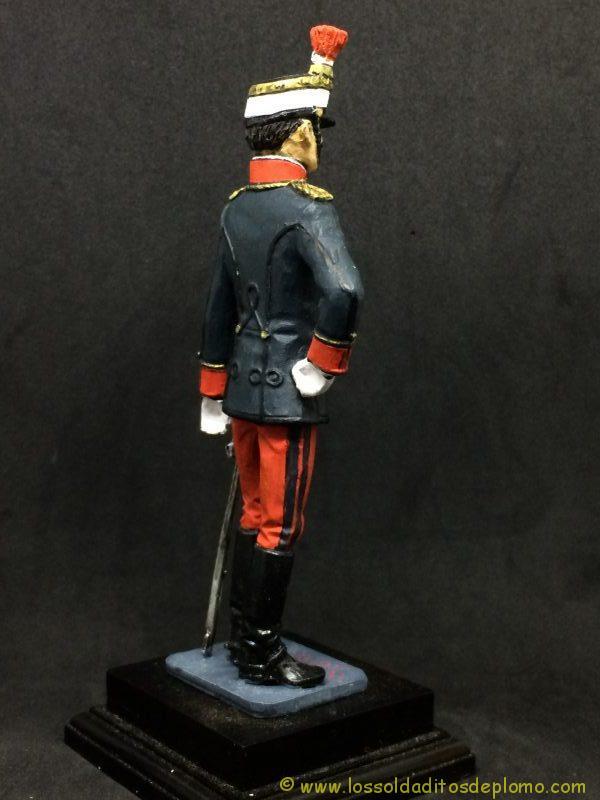 eko-almiral lead soldier Oficial de Infantería,1910 -7