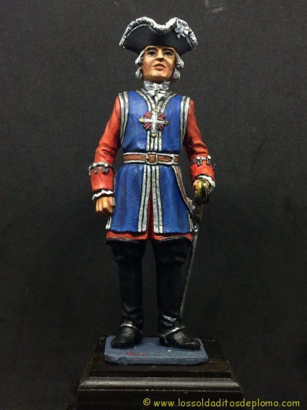 eko-almirall 90mm Mosquetero del Rey 1810-1