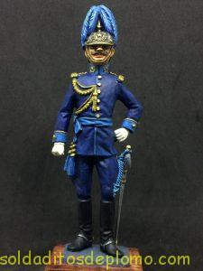 eko almirall figura plomo Comandante de Estado Mayor 1.910 España