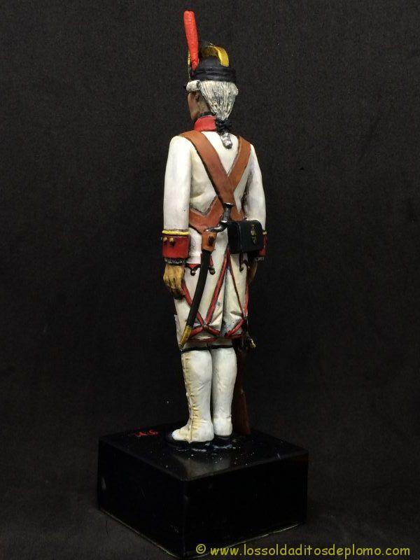 El Ejercito de Carlos III: Cabo Fusileros Rgto. Infantería Galicia, 1759-1788-5