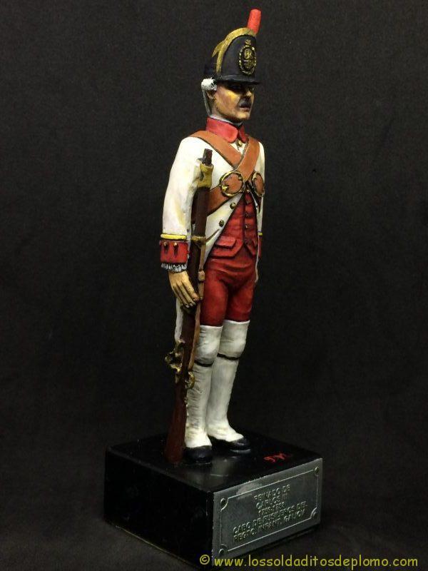 El Ejercito de Carlos III: Cabo Fusileros Rgto. Infantería Galicia, 1759-1788-9