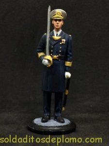 Figura de plomo El Infante, Capitan de fragata de gala