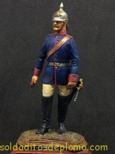series 77 Officer Line Kürassier Reg't (Undress Uniform)