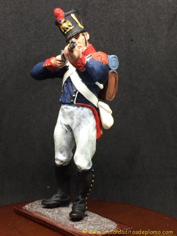 soldado de plomo distler, French Imperial Guards, Young Guard ( tirailleurs)-3