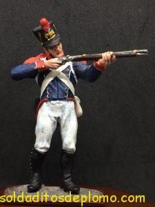 soldado de plomo distler, French Imperial Guards, Young Guard ( tirailleurs)-1