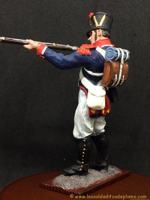 soldado de plomo distler, French Imperial Guards, Young Guard ( tirailleurs)-5