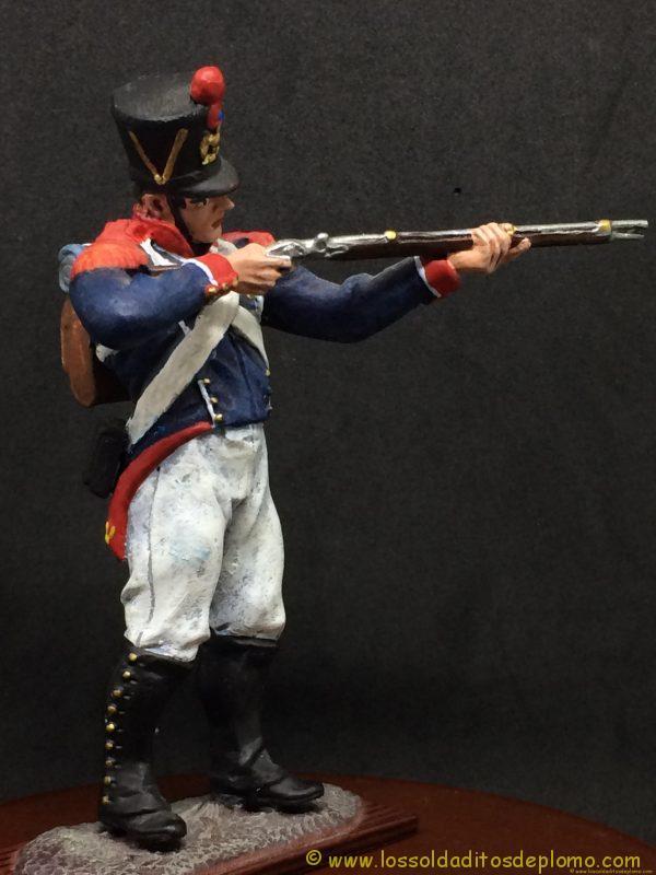 soldado de plomo distler, French Imperial Guards, Young Guard ( tirailleurs)-9