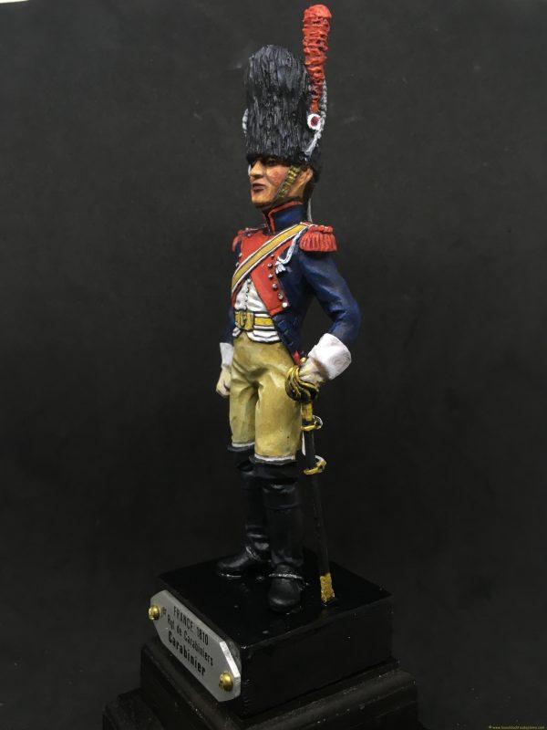 Soldado de plomo 90mm EKO ALMIRALL Carabinero francia 1810-2