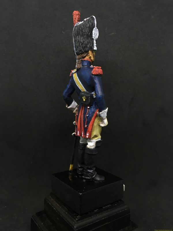 Soldado de plomo 90mm EKO ALMIRALL Carabinero francia 1810-6