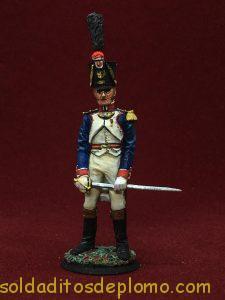Capitan fusileros de infantería de línea 1810-1812-6