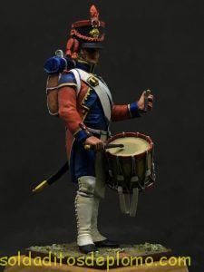 Tambor Artillería, Francia 1809