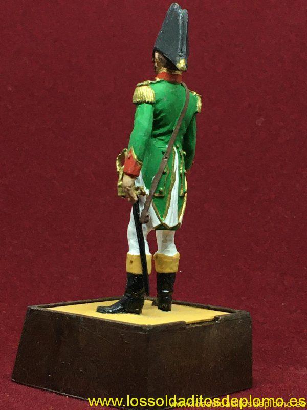 Marca Soldat. Capitán Infantería de Línea España 1808-4