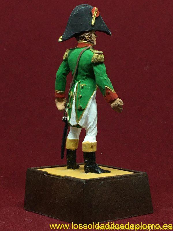 Marca Soldat. Capitán Infantería de Línea España 1808-6