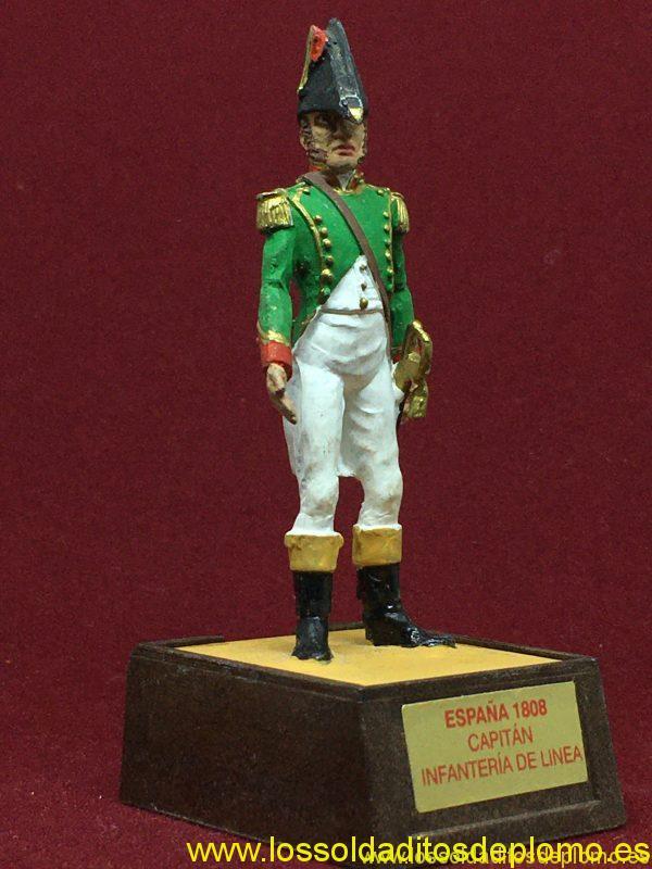 Marca Soldat. Capitán Infantería de Línea España 1808-8