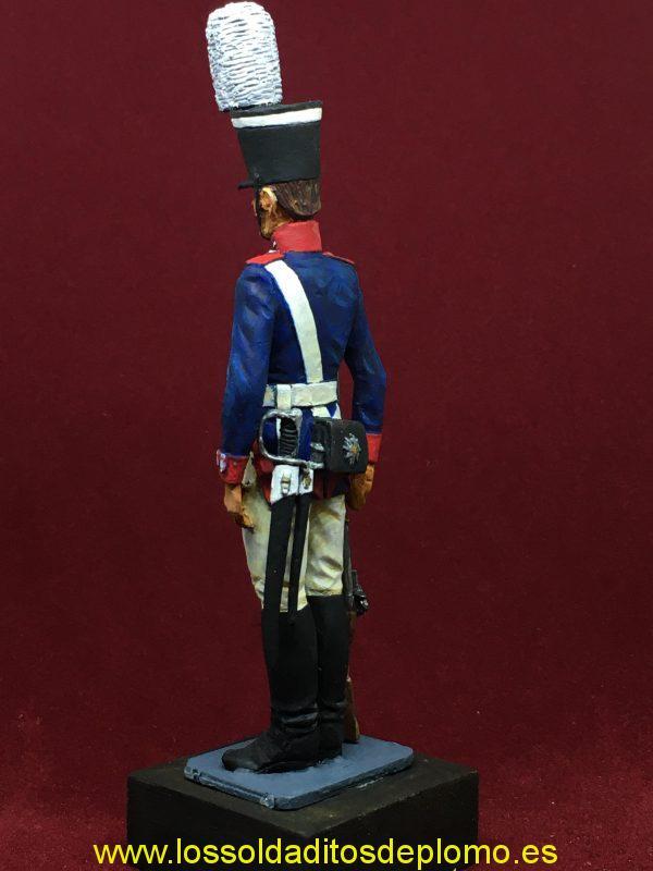 Granadero del Regimiento de la Guardia, Prusia