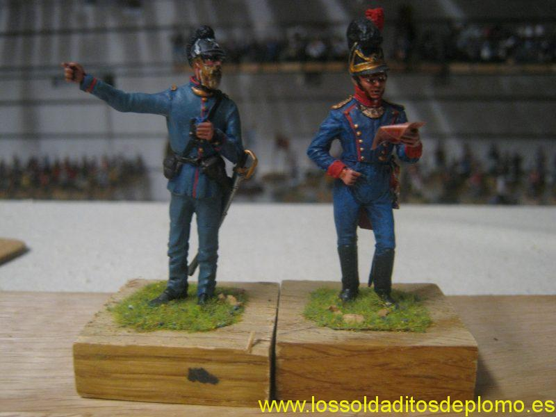 Artillery Officers Bayern -1870 and 1800 by Hecker and Goros