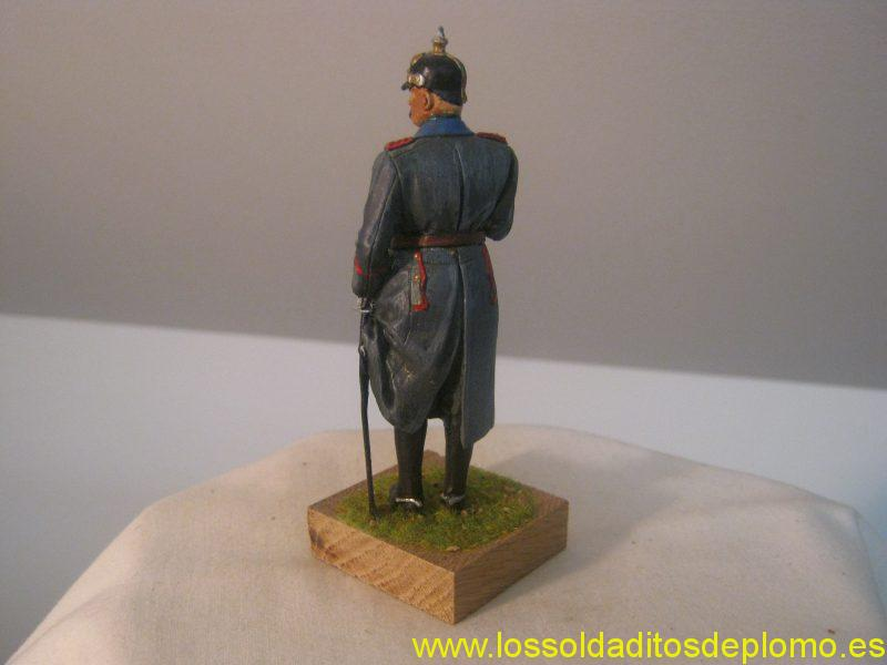 Field Marshall von Hindenberg,1914 by Ron Cameron 90mm scale