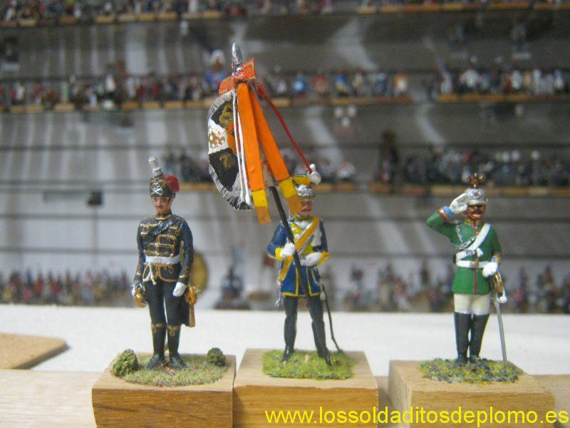Hussar,Uhlan and Dragoon,Imperial German Army 1900's by Hecker and Goros(last by Fusilier Miniatures)