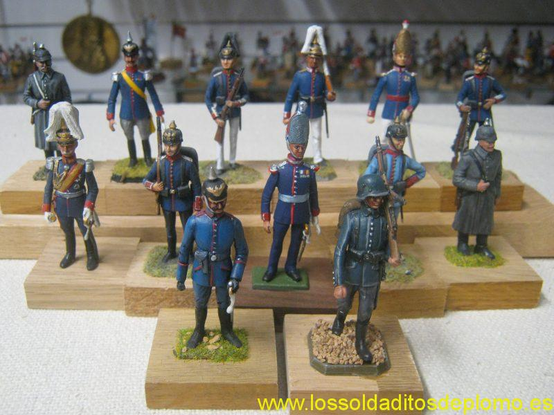 mperial German Army ,1900's by Rose Miniatures(Russell Gamage)