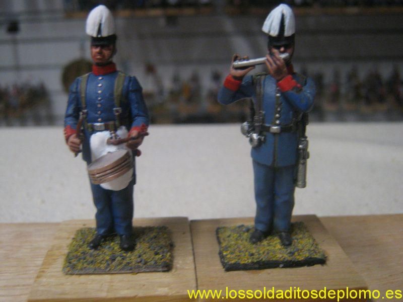 Musicians,Imperial German Army,1900's by Monarch Miniatures USA