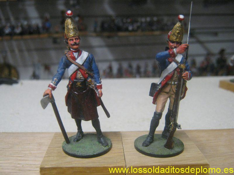 Prussian Grenadier and Sapper by Puchala