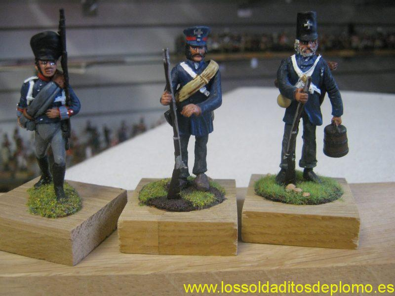 Prussian Landwehr (Fusilier Miniatures and Deauville Models)