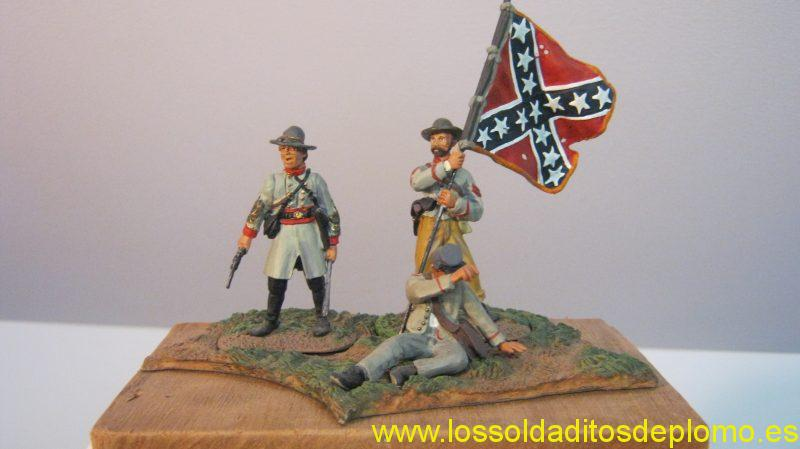 ACW- Confederate Standard by Britains