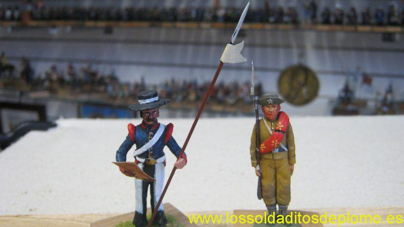 ACW -Lancer by Stadden and 3rd Texas Regiment by Monogram
