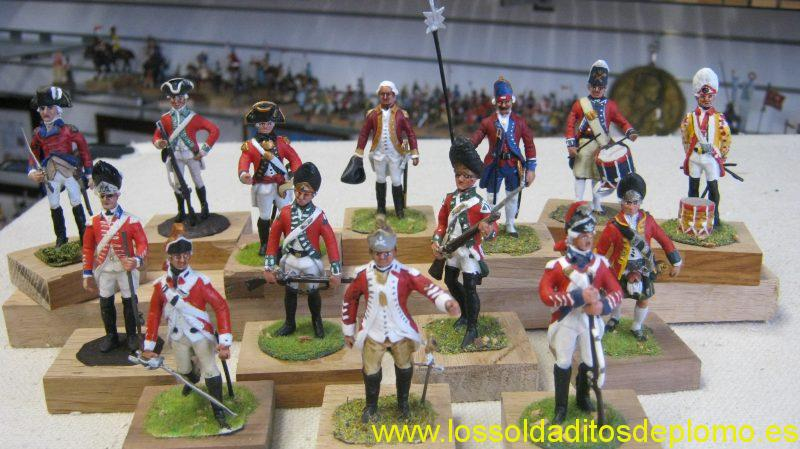 AWI-British Army,Infantry and Dragoons