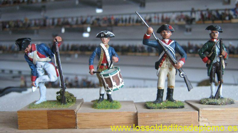 AWI- Continental Army by Imrie Risley(2),MMM(UK),and Green Mountain Ranger by Valiant