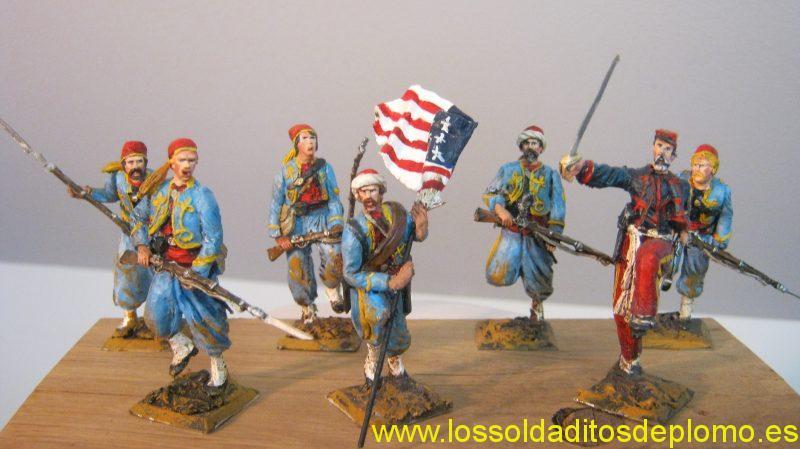 American Civil War (ACW)-Pennsylvania Zouaves by Manes Marzana (Argentina)